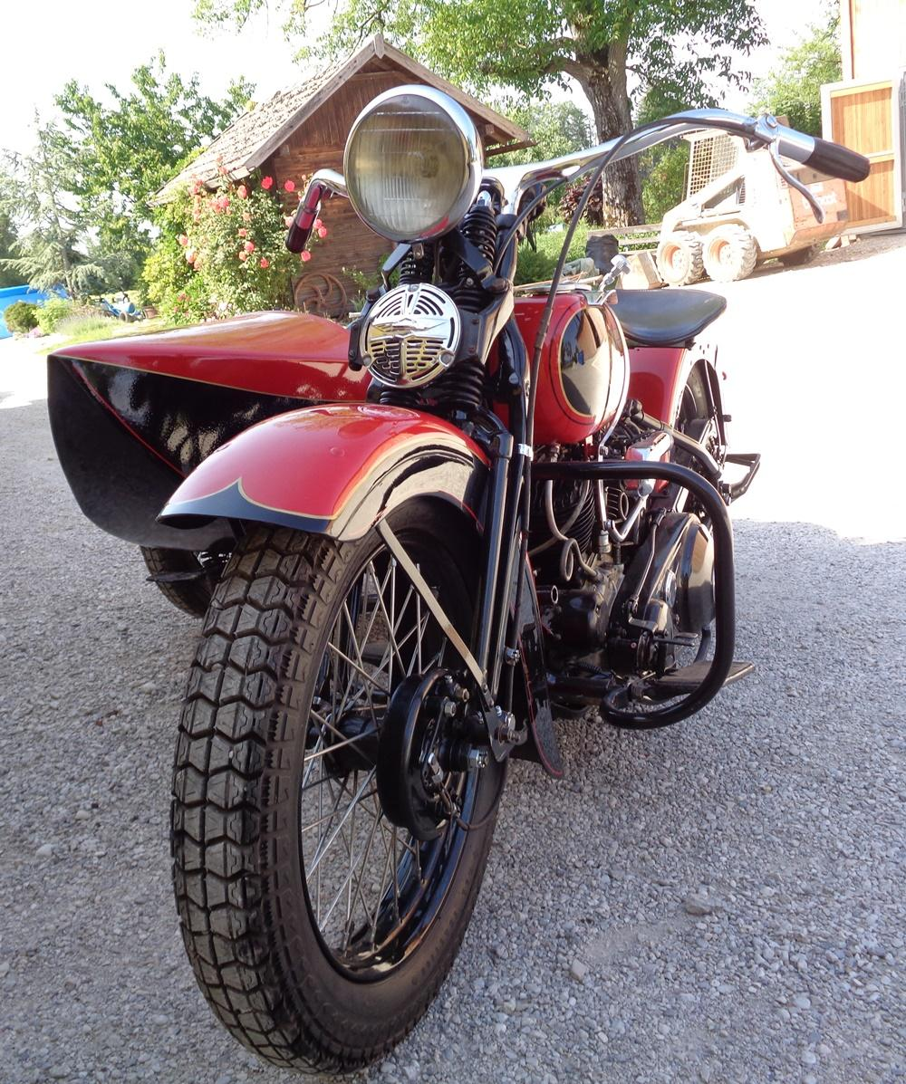 Harley Davidson VLE with sidecar 1935 | BRITISH Only Austria ... on