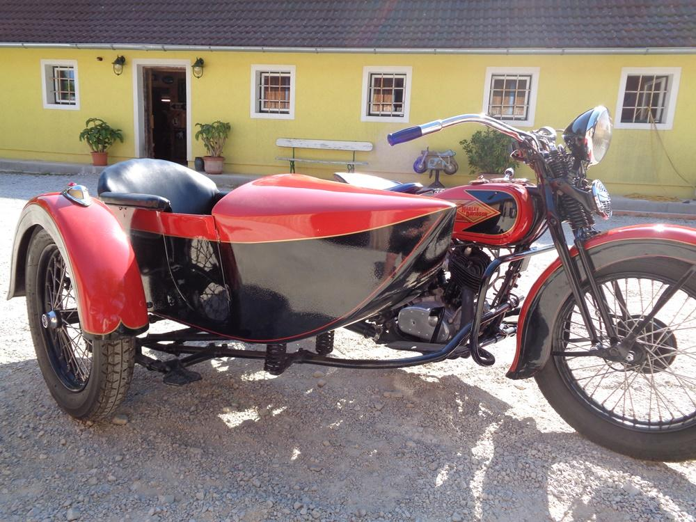 Harley Davidson VLE with sidecar 1935 | BRITISH Only Austria ... on