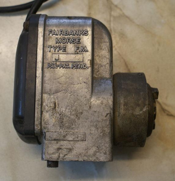 Fairbanks Morse Magneto Type F M  J used | BRITISH Only
