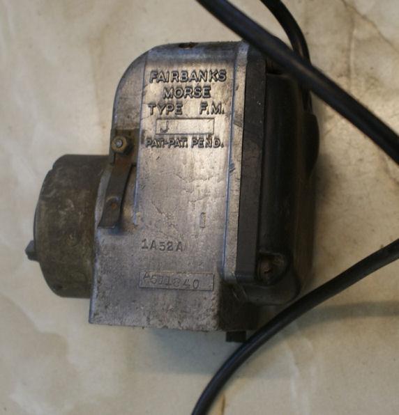 Fairbanks Morse Magneto Type F M  J used | BRITISH Only Austria