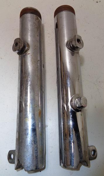 Fork Leg Pair used BsaTriumph   BRITISH Only Austria
