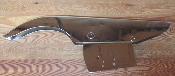 68 triumph wiring diagram bsa a65 rear chain guard   chrome 1965    68    british only  bsa a65 rear chain guard   chrome 1965    68    british only