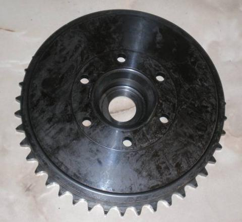 BSA Wheel Sprocket/Brake Drum 42T. Gold Star Rocket Gold Star A65