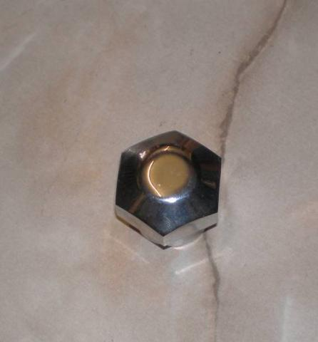 Norton Steering Stem Top Nut 26TPI