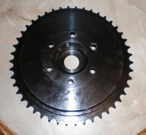 BSA Wheel Sprocket/Brake Drum 46T. Gold Star