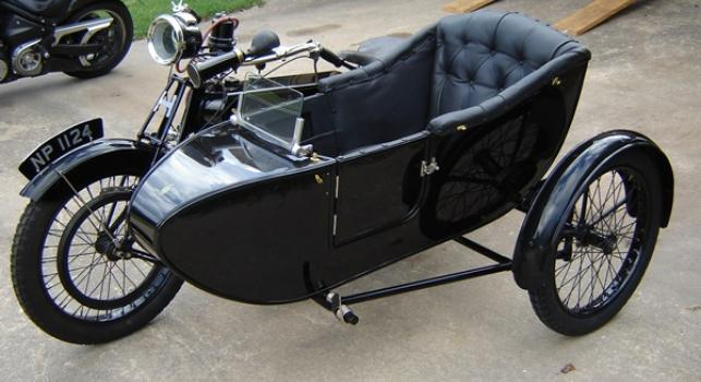 Hazlewood Sidecar Outfit 1922