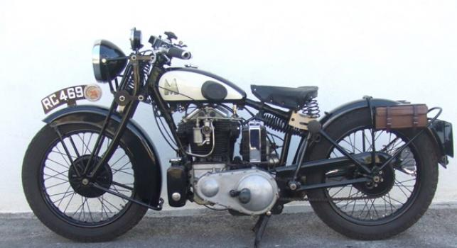 Matchless Silver Hawk 600 cc 1933