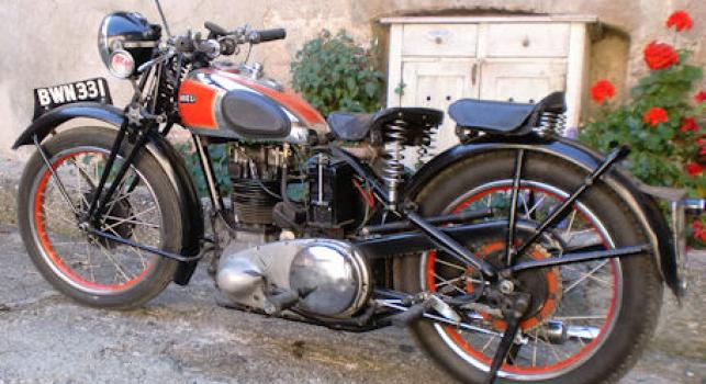 Ariel Red Hunter 1939 350cc