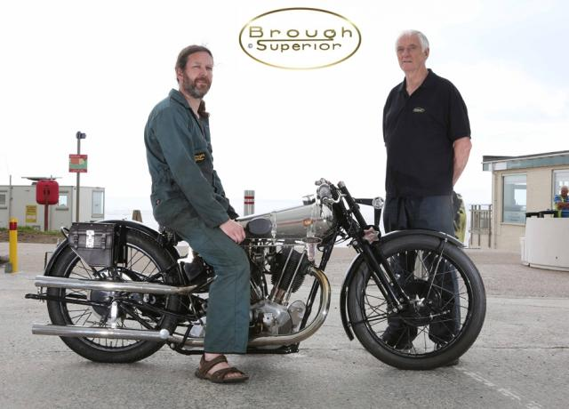 AA-Brough Superior Picture Gallery Pendine Sands Speed Trials 2013