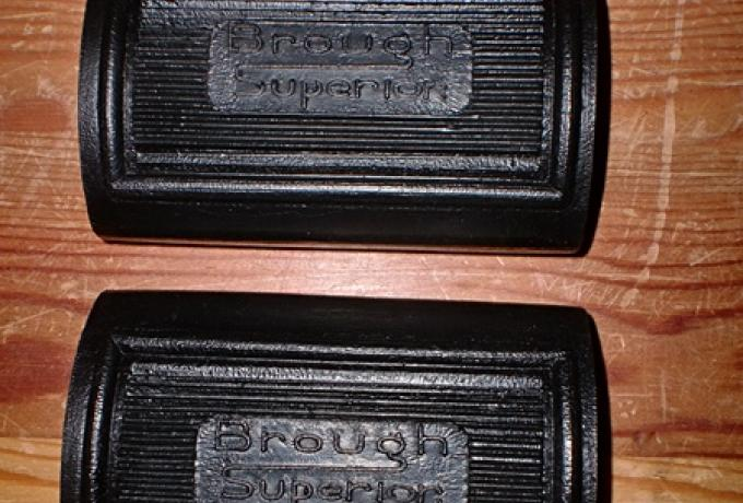 Brough Superior Footrest Pedal Rubbers /Pair