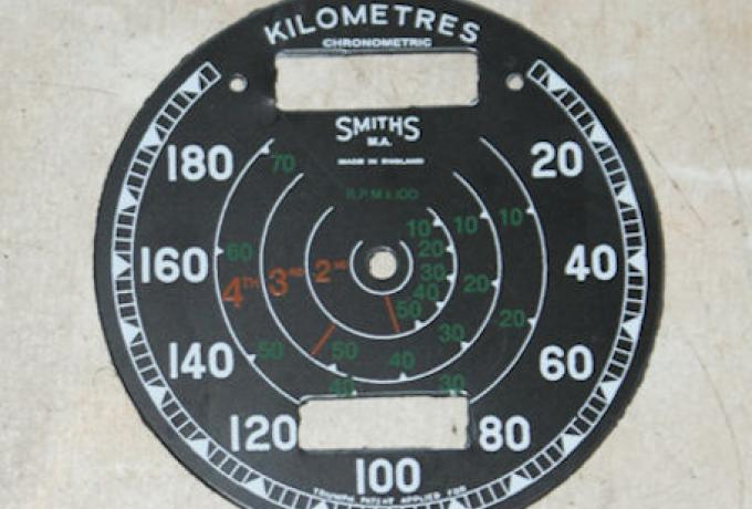 Speedo Face Plastic Smiths 20-180 km/h