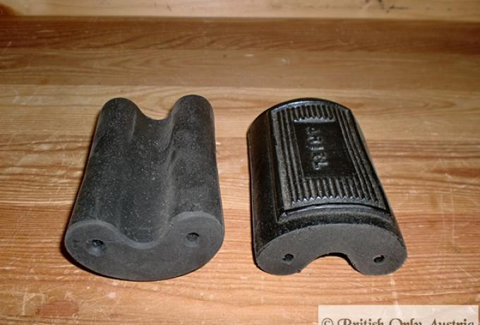 Ariel Footrest Rubbers Pedal Type /Pair with Logo