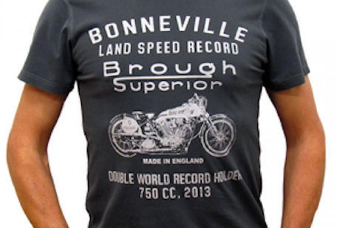 "Brough Superior ""Double World Record Holder 750cc"" 2013 T-Shirt / S"