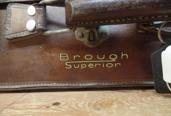 Brough Superior Vintage French Suitcase