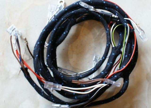 BSA B25/B44 1968-71 Wiring/Main Harness/Loom