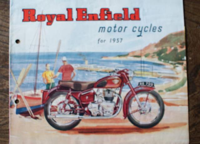 Royal Enfield Motor Cycles for 1957, Brochure