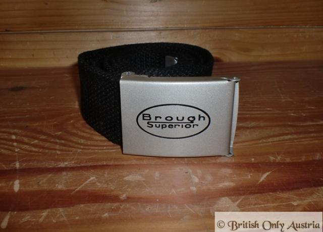 Brough Superior Belt black