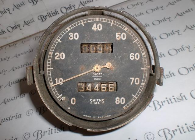 Smiths Speedometer 38377/1500  0-80 mph used