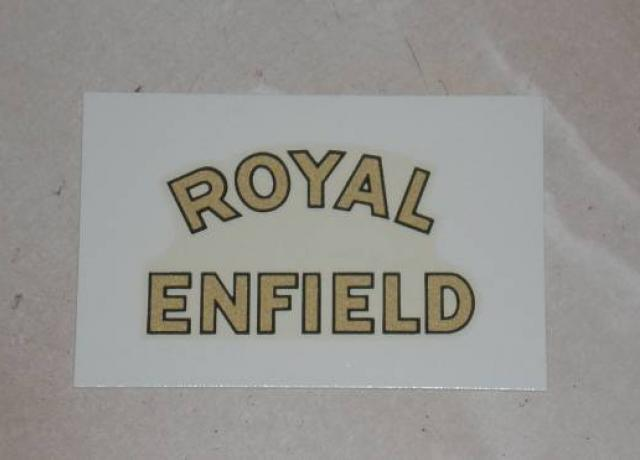 Royal Enfield rear Mudguard Transfer 1945 on