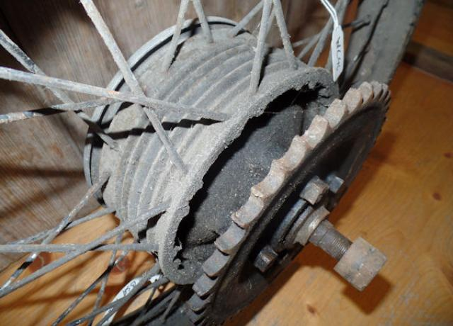BSA Rear Wheel used