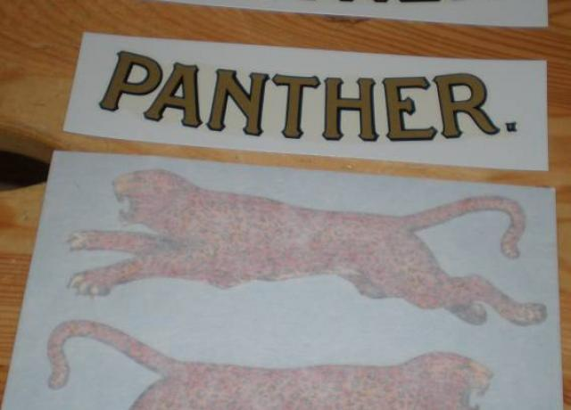 Panther Stickerset 1933-37