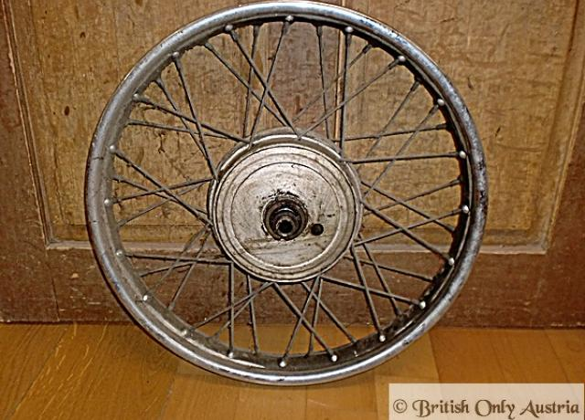 AJS/Matchless Rear Wheel 350/500 cc used, 1955-67