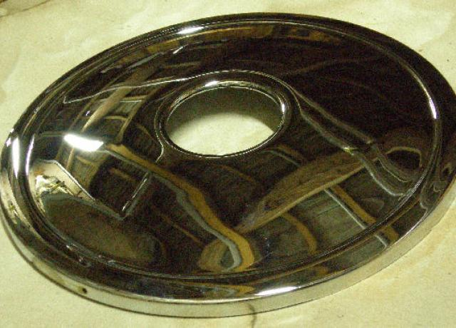 BSA A10 Front Brake Cover Plate  8""