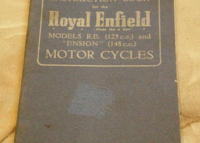 Instruction Book for the Royal Enfield