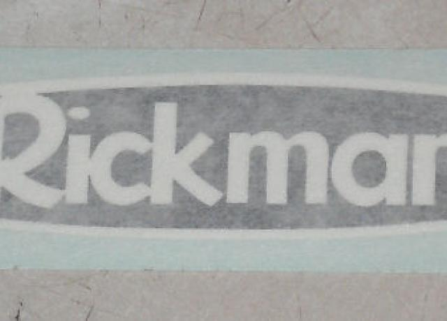 Rickman Sticker for Panel 1974