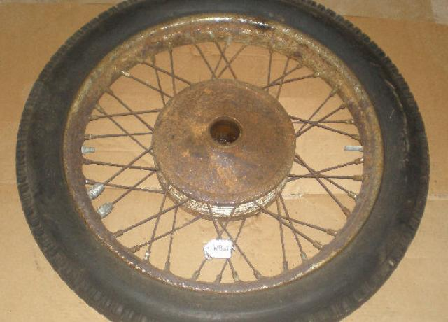 "BSA/Triumph 19"" WM2 Front Wheel 1957-61 used"