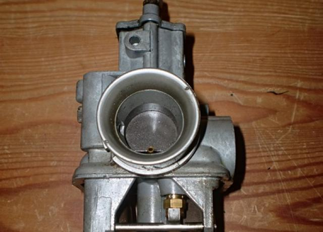 Carburettor Dellorto VHBZ 24 B used, incomplete