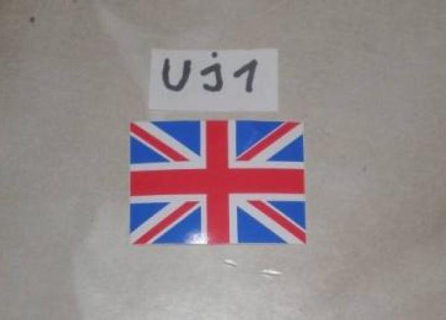 Union Jack Sticker small