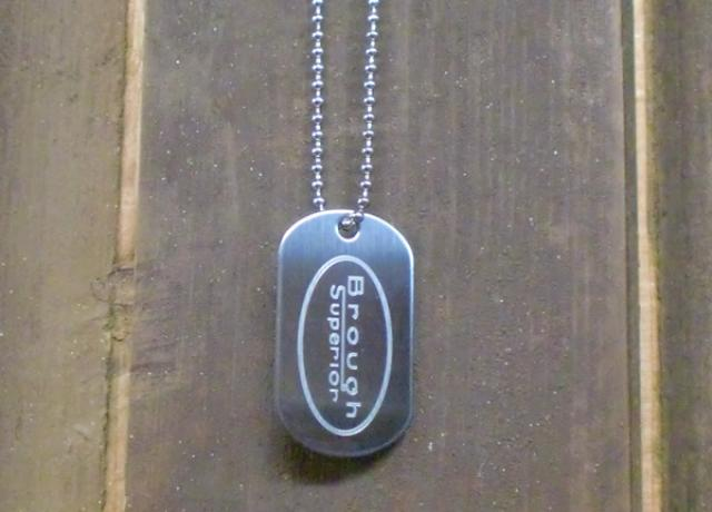 Brough Superior Dog Tag