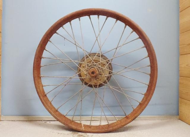 French. Wheel used