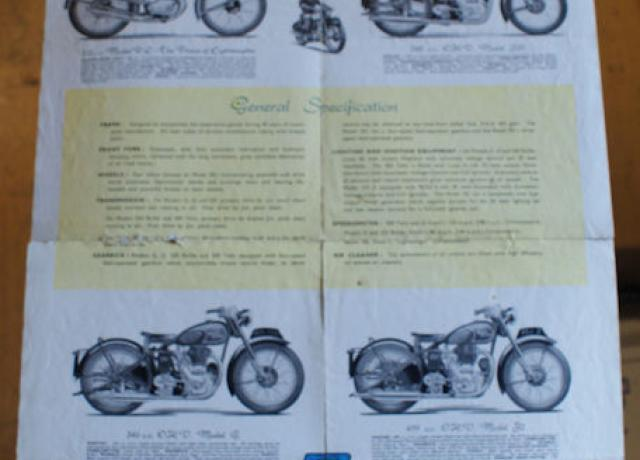 Royal Enfield Motorcycles, By Miles the Best, Brochure