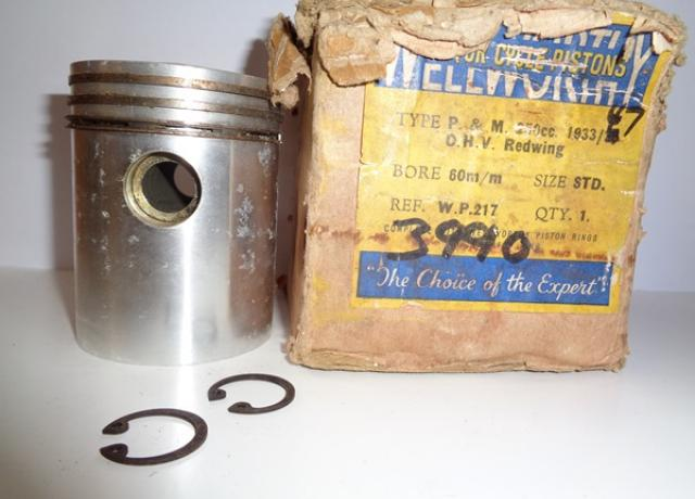 P&M 250cc Piston STD., O.H.V. Redwing 1933-38