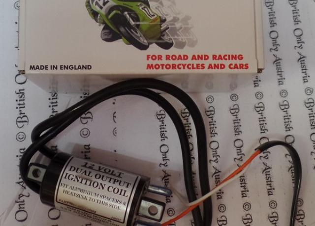 12 Volt Ignition Coil Wiring Diagram Vincent Motorcycle ...  Volt Ignition Coil Wiring Diagram on