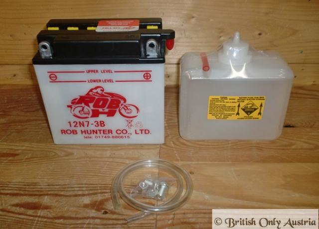 Battery with Acid Pack 12V / 7A