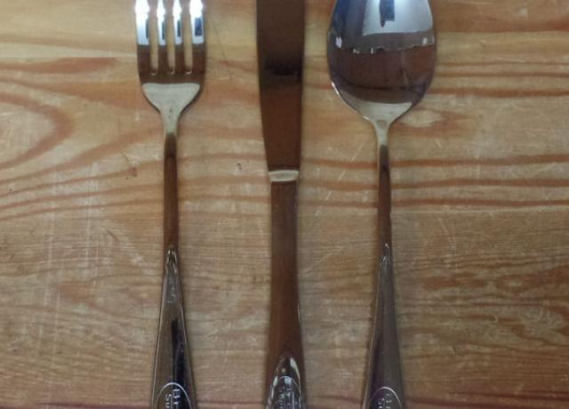 Brough Superior Cutlery /Set