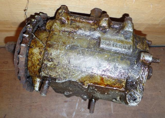 Harley Davidson Gearbox used