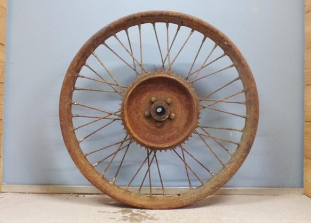 French, Wheel used