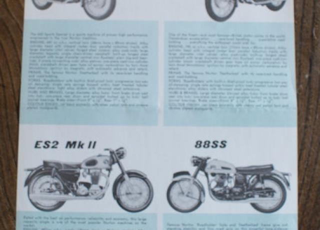 Norton, Brochure