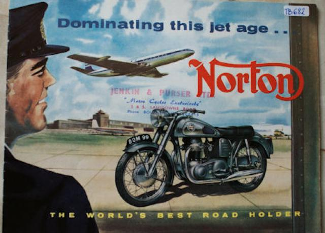 "Norton ""Dominating this jet age..."" Brochure"