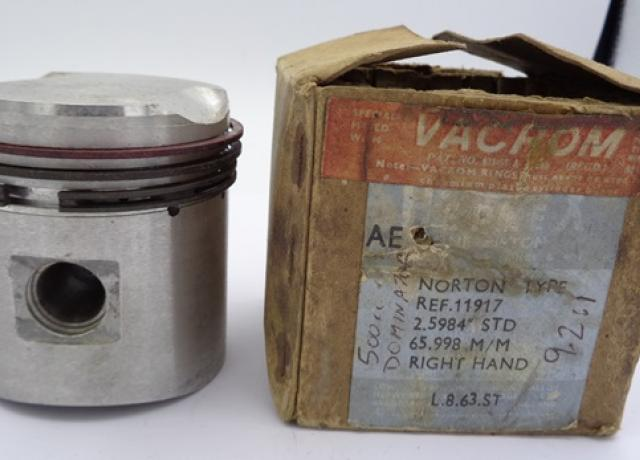 Norton Dominator 500cc Piston 11917 STD, NOS