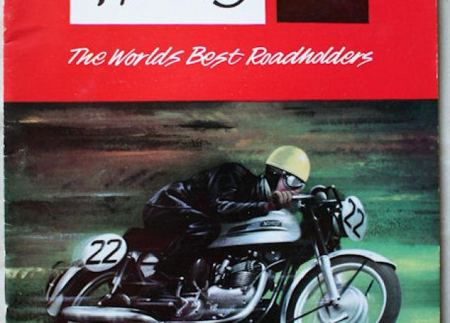 "Norton 1963 ""The Worlds Best Roadholders"" Brochure"