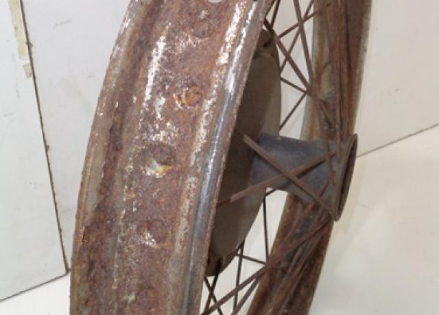 "Ariel Front Wheel 19"" used"