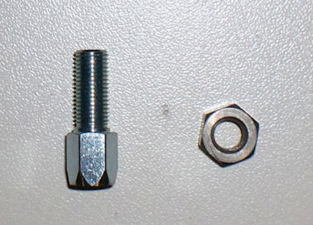 Amal Adjuster Screw with Nut f. Concentric Carburettor