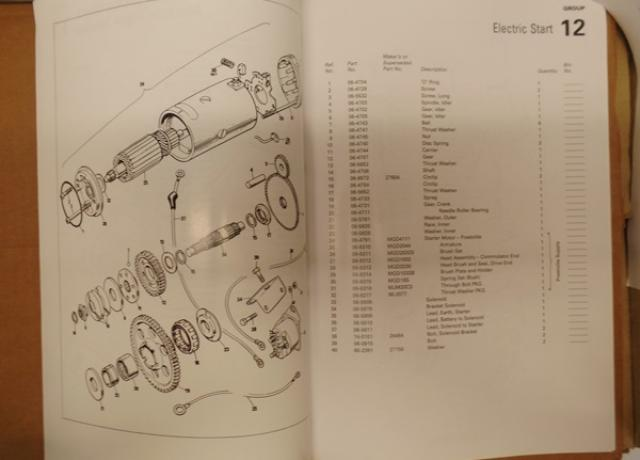 Norton Parts List 850 MK3