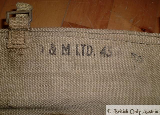 WD. Bags used / Pair. 1943