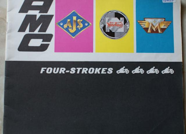 AMC AJS,Norton,Matchless Four Strokes Brochure